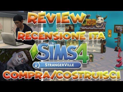 THE SIMS 4 STRANGERVILLE ITA    REVIEW/RECENSIONE ITA    COMPRA/COSTRUISCI thumbnail