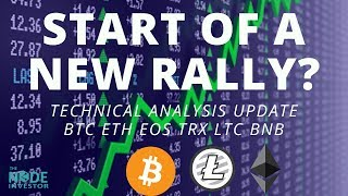Is This the Start of a New Crypto Rally? Technical Analysis Update BTC ETH EOS and more.