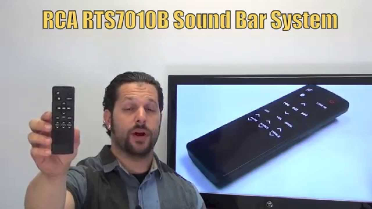 How do you hook up rca sound bar