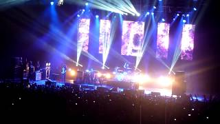 """M83 performing """"Midnight City"""" Live @ NSSN 2012 @ the Oracle Arena in Oakland on December 8, 2012"""