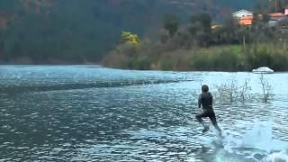 Обучение бегу yyо воде