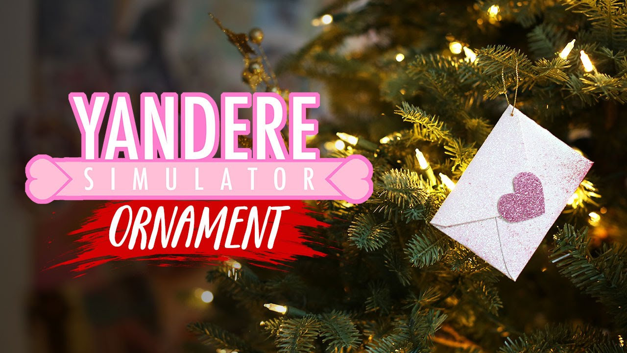 Yandere Simulator Love Letter Ornament  Diy Gg  Youtube