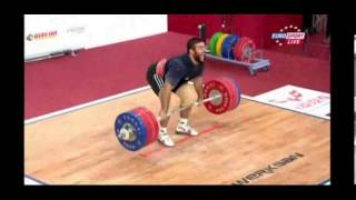 2013 World Weightlifting Championships Mens -105kg SN Highlights + Clean and Jerk