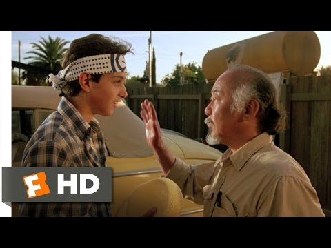 Wax On, Wax Off - The Karate Kid (2/8) Movie CLIP (1984) HD