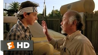 Wax On, Wax Off - The Karate Kid (2/8) Movie CLIP (1984) HD