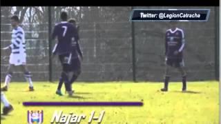 Gol de Andy Najar con el Anderlecht!