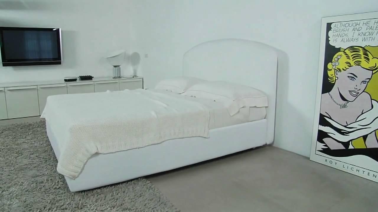 Letto Contenitore DEMETRA Storage Bed - YouTube