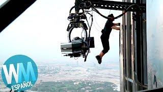 ¡Top 10 Escenas CASI IMPOSIBLES de Filmar!