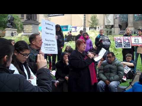 Missing 43 Mexicans & Nestora Salgado (Alison Thorne Speech in Melbourne)