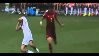 طرد البرتغالي بيبي - المانيا والبرتغال كأس العالم 2014 كاملة