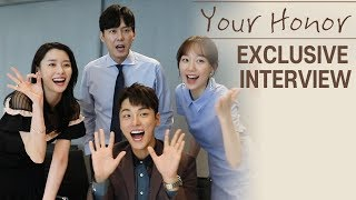 [Exclusive Interview | Your Honor] Yoon Si Yoon, Lee Yoo young, Nara, Park Byung Eun,