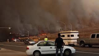 Canyon Fire 2 - Orange, California