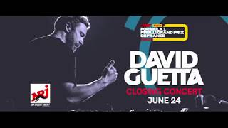 David Guetta Grand Prix de France F1 2018 closing concert trailer