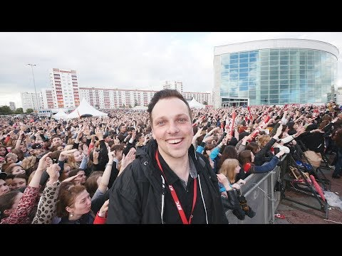KFC Battle Fest with Egor Kreed and Kate Clapp in Ufa, Russia