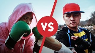 Live Action Smash Bros - Little Mac vs Dark Ness