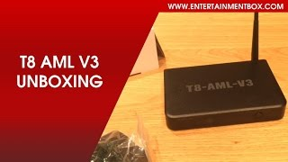 unboxing the ebox t8 aml v3 tv box