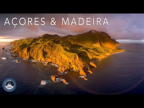 Azores & Madeira Aerial 4K - Islands of Rainbows and Waterfalls