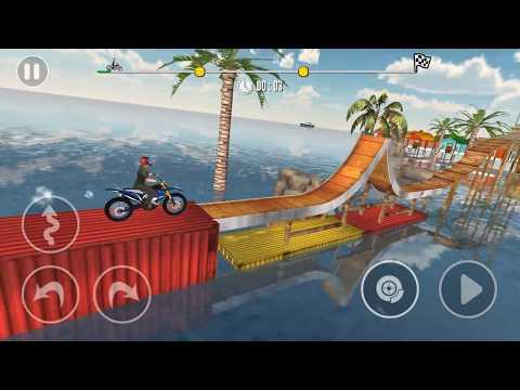 Bike Stunt Tricks Master Levels 11-15 - Gameplay Android Game