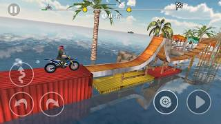 Bike Stunt Tricks Master levels 11-15 - Gameplay Android game