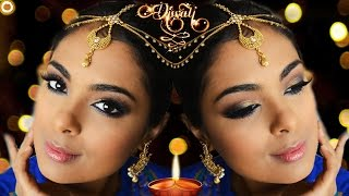 GRWM Diwali + Indian Wedding using Anastasia Beverly Hills Shadow Couture World Traveler Palette
