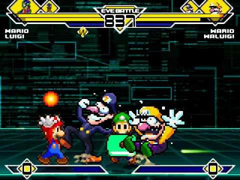 Mario vs sonic vs megaman vs pacman
