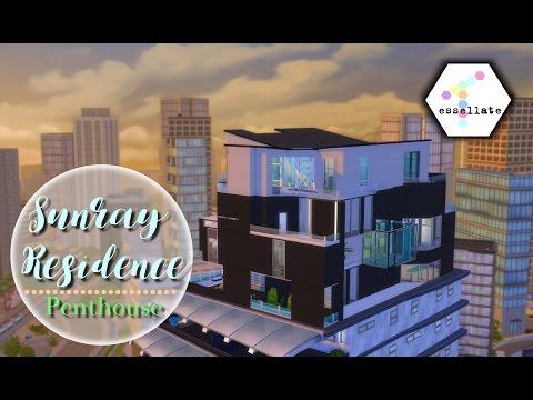 PENTHOUSE [1/3] // Stedelijk Leven || Sims 4 Speed Build (Nederlands)