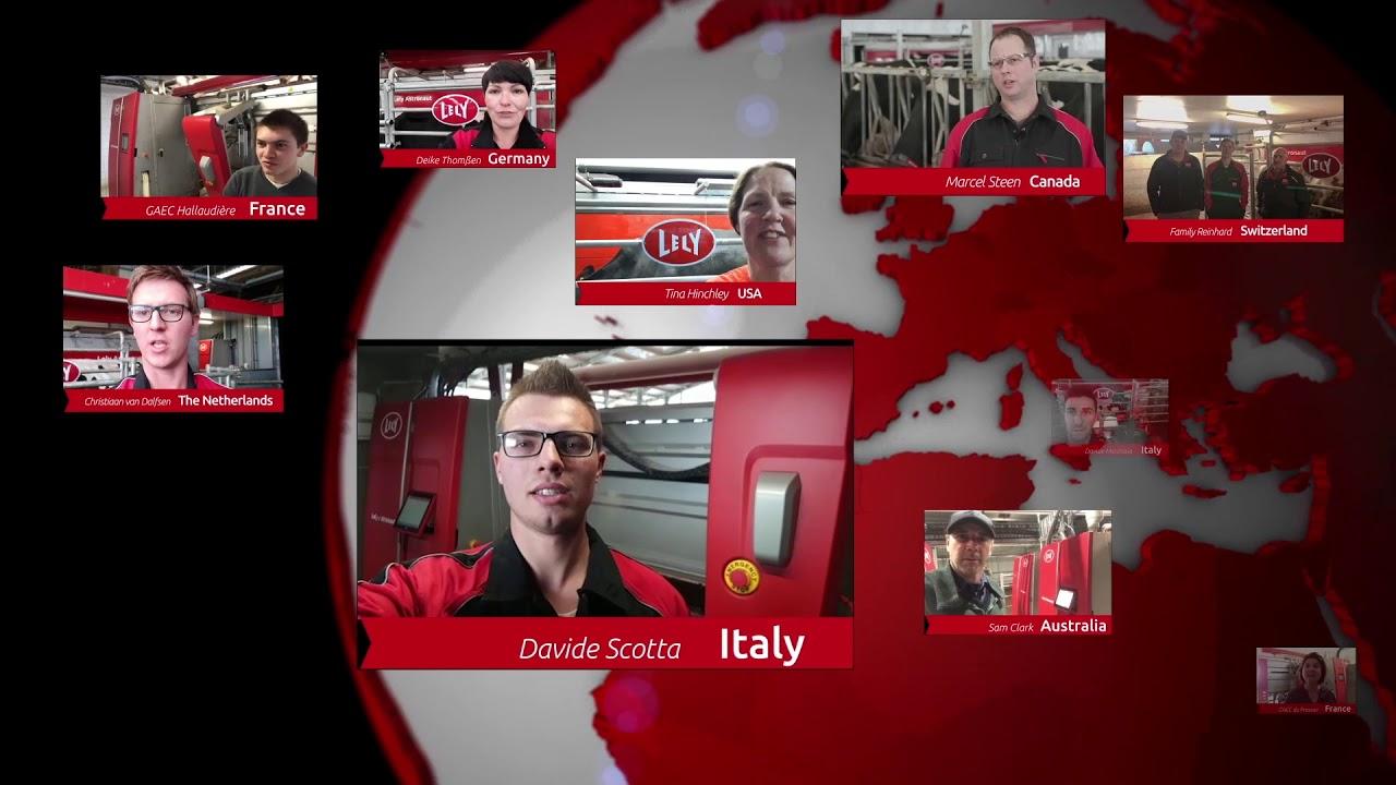 Lely Astronaut A5 – 1 an d'expérience – video 1 (FR)