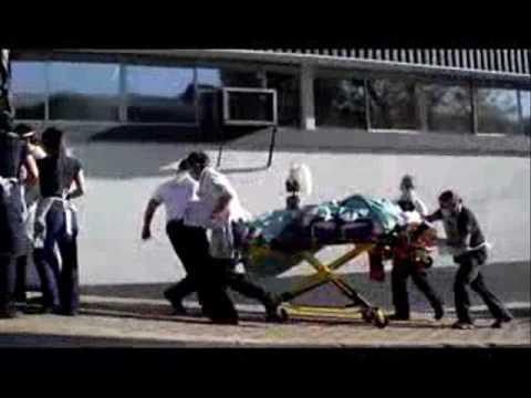 Ambulancia Life Care en Traslado de Paciente Critico con Virus HANTA.