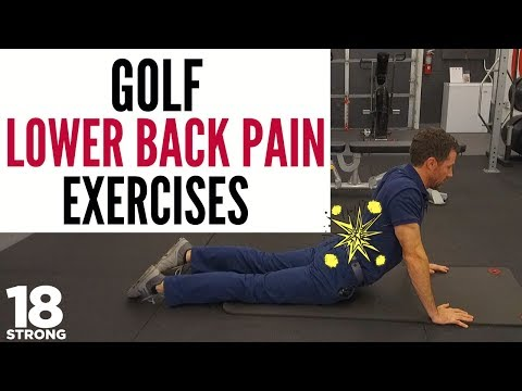 Golf Lower Back Pain Exercises: 4 simple exercises you can do to build a better back (and core!)