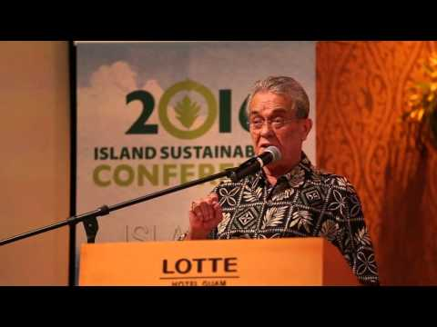 7th Regional Conference on Island Sustainability Presents Tony De Brum