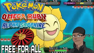 Pokemon ORAS Character Roulette Free For All Kaioken vs Cloud vs Kynim vs Kyle