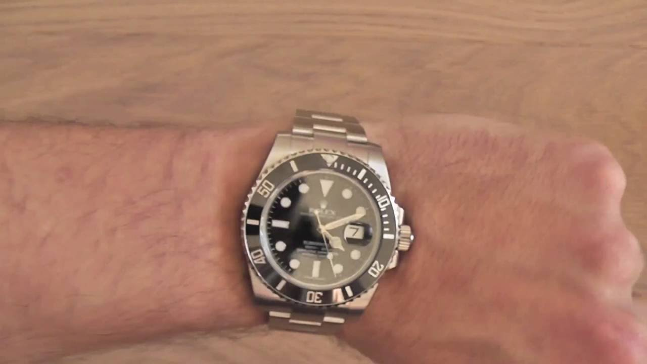 How to shorten a Rolex strap