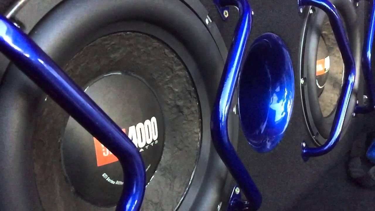 Jbl Subwoofers On Mazda 3 Pro Tuning Youtube