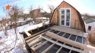 видео Комната на чердаке под крышей: обустраиваем жилой чердак