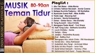 Gambar cover 20 Lagu Slow Terpopuler Era 80 90an Pengantar Tidur HQ Audio!!!