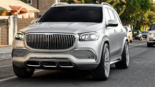 Tyga's Maybach GLS 600 SILVERIZED.