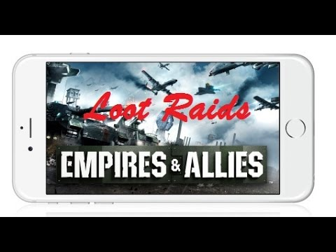 Empires & Allies Mobile - Loot - Almost 200k Resources in Minutes