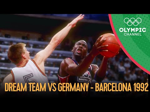 The USA's Dream Team v Germany - Men's Basketball | Barcelona 1992 Replays