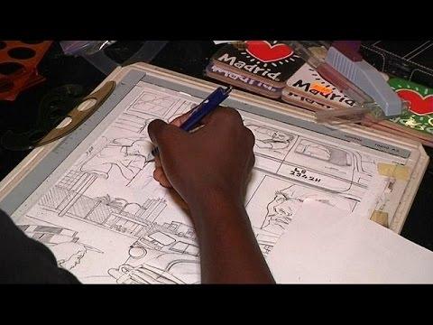 Nigerian comics artist promotes African superheroes
