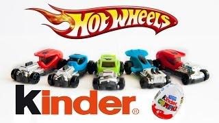 Unboxing Many Surprise Eggs Kinder Surprise Hot Wheels Kinder Joy