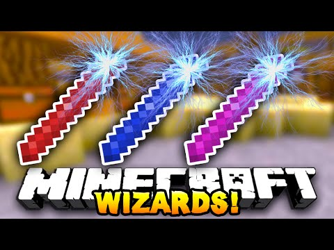 Minecraft WIZARDS! (Crazy Minigame) #1 w/ THE PACK!