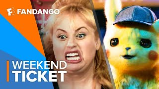 In Theaters Now: Pokémon Detective Pikachu, The Hustle, Poms | Weekend Ticket