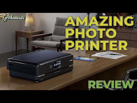Epson Expression Photo XP-970 A3 Photo Printer Review