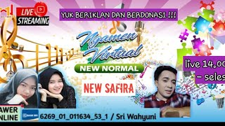 LIVE  NGAMEN VIRTUAL ORKES DANGDUT NEW SAFIRA