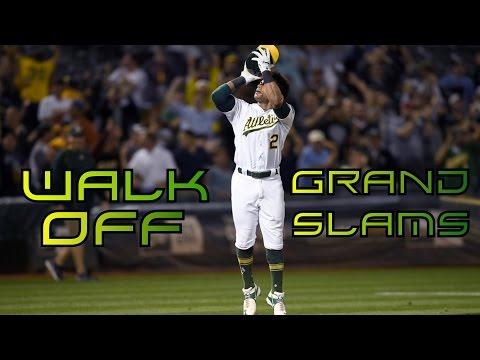 MLB   Walk-Off Grand Slams ᴴᴰ