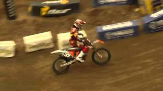Supercross LIVE! 2012 - 2 Minutes On the Track - Lites Second Practice in Houston