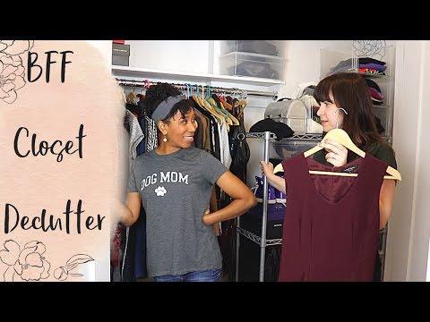 A Professional Organizer Helps Her Best Friend Declutter Her Closet