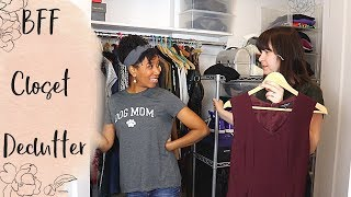 A Professional Organizer Helps Her Best Friend Declutter Her Closet