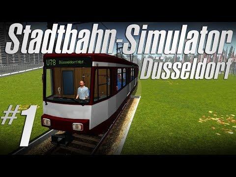 STADTBAHN-SIMULATOR DÜSSELDORF | #01: Zombies in der Straßenbahn! [Deutsch/German]
