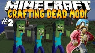 Minecraft: Crafting Dead Mod ! [2] - Super Secret Army Base